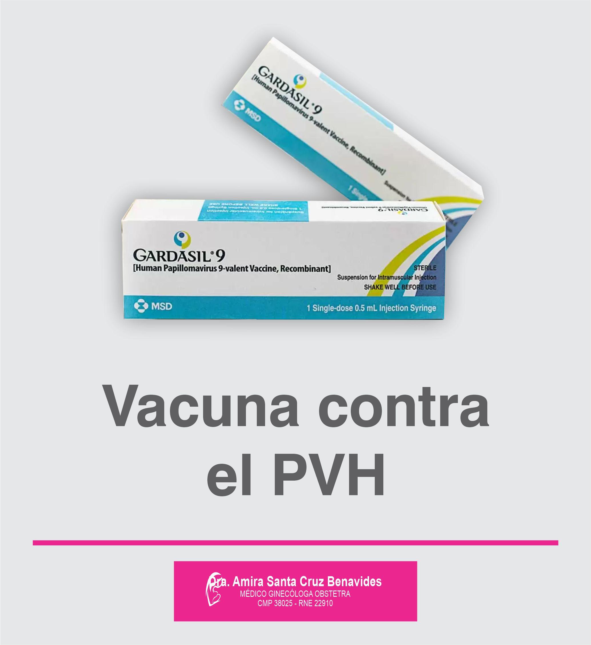 Amira Ginecologa Obstetra - Vacuna contra el PVH